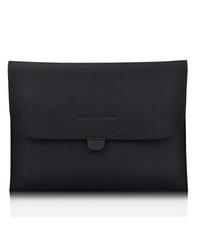 Чехол конверт кожаный для iPad 2, 3, 4 Черный