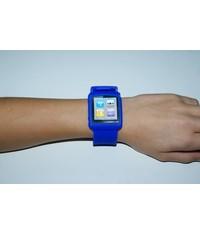 Синий чехол часы для iPod Nano 6G
