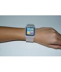 Белый чехол часы для iPod Nano 6G