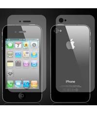 Защитная пленка на экран и заднюю часть для iPhone 4/4s