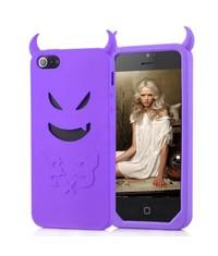 Чехол дьявол Devil для iPhone 5/5s Сиреневый