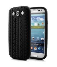 Чехол шина для Samsung Galaxy S3 Черный