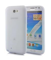 Силиконовый чехол Galaxy Note 2 Белый