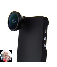 Линза Fisheye с крышкой для iPhone 5/5s