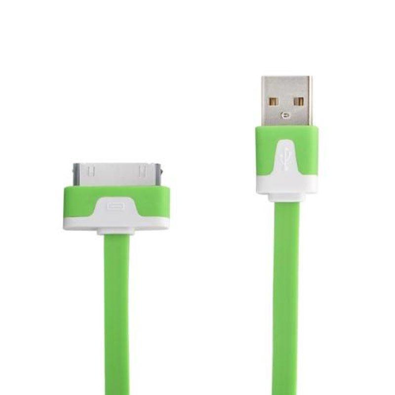 Стильный USB 2.0 кабель для iPhone 4/4s, iPod
