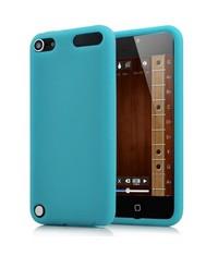 Яркий силиконовый чехол для iPod Touch 5 Бирюзовый