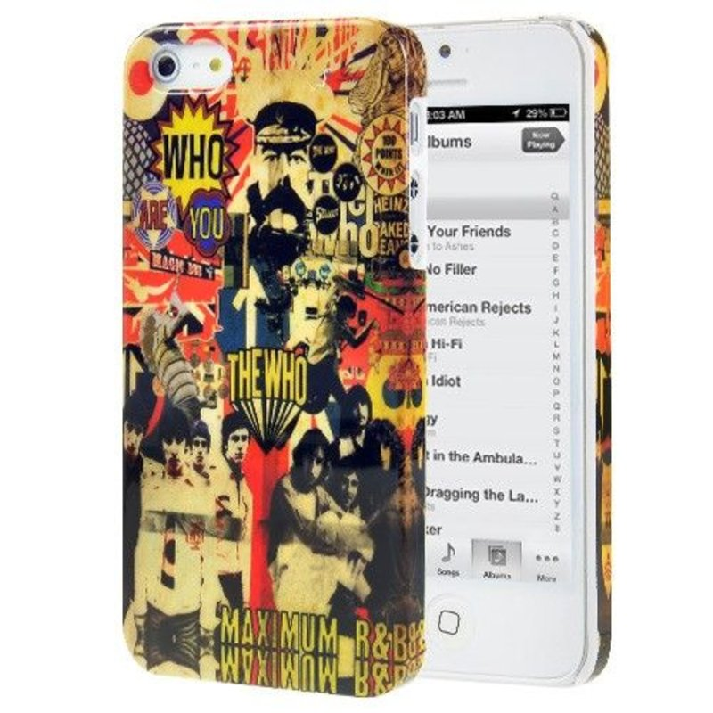 Задняя крышка для iPhone 5/5s The Who