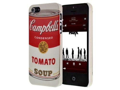 Задняя крышка Campbell Soup Andy Warhol для iPhone 5/5s