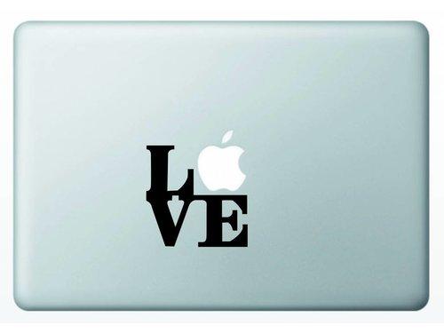 Виниловая наклейка для MacBook Love Любовь