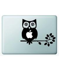 Виниловая наклейка для MacBook Сова