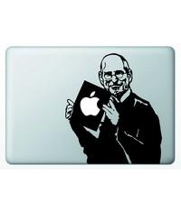 Виниловая наклейка для MacBook Стив Джобс