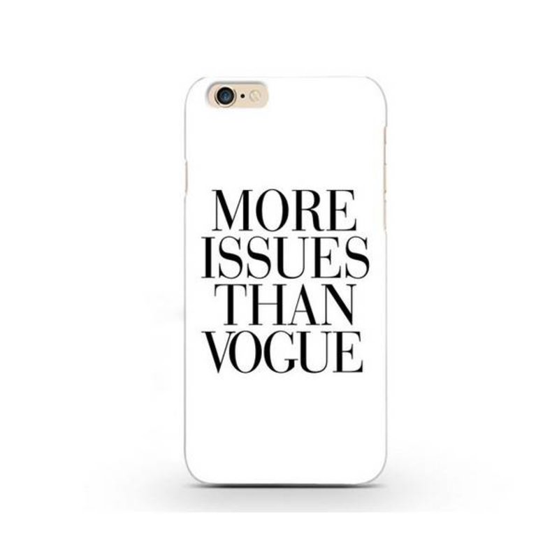 More Issues Than Vogue чехол на iPhone 6 Plus / 6S Plus