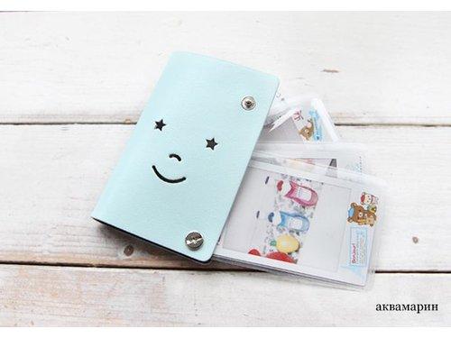 Кожаный альбом для фотографий Instax mini