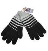 Черные сенсорные перчатки для зимы
