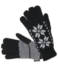 Перчатки сенсорные со снежинками