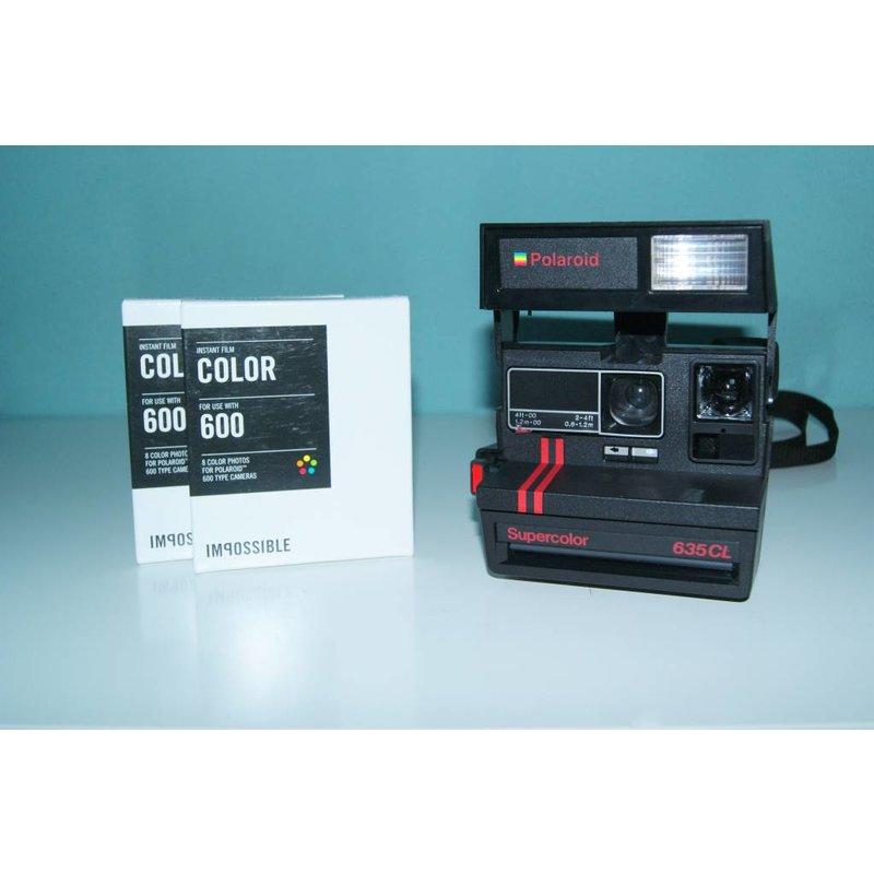 Polaroid Supercolor 635 CL + 2 картриджа