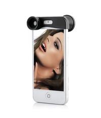 Линза 3 в 1 для iPhone 5 5s Фишай Макро Широкоугольник