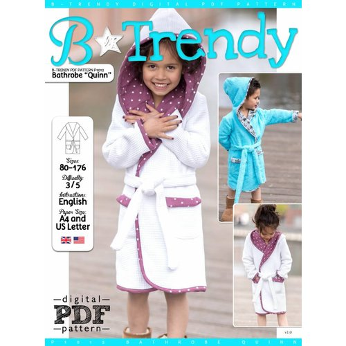 "Download P1012 Bathrobe ""Quinn"""