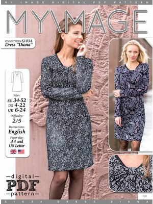 "Download S1034 Robe ""Diana"""