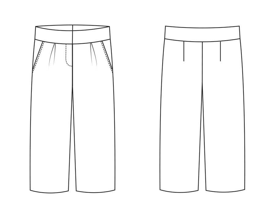 "S1035 Trousers ""Emma"""