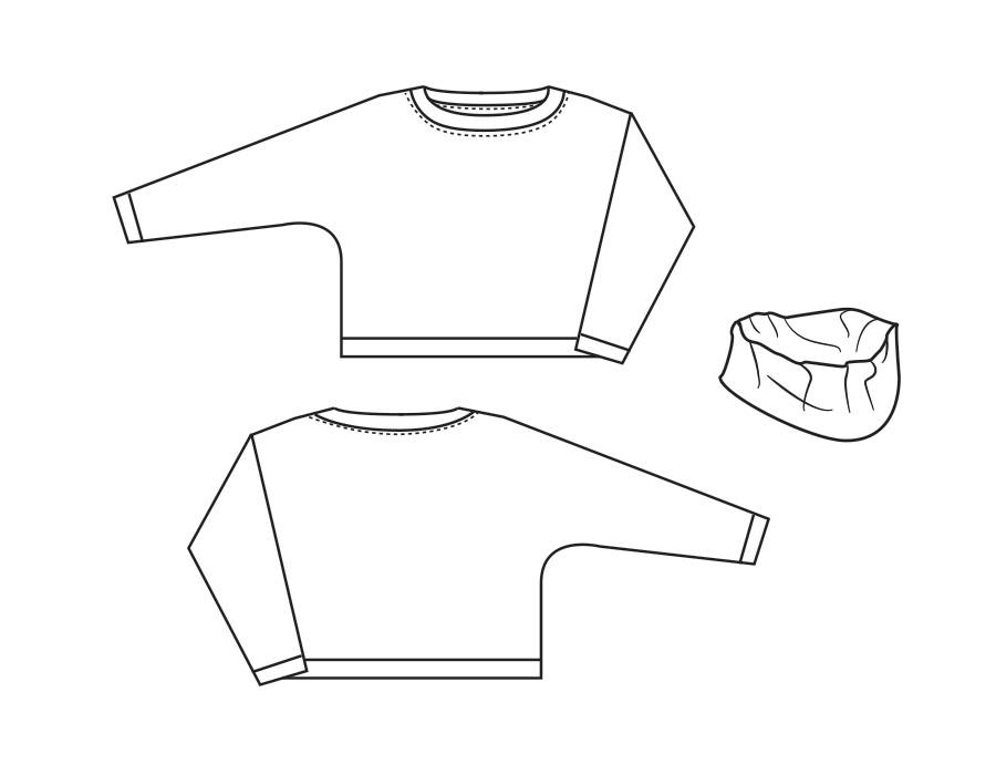 "P1018 Sweater ""Senna"""