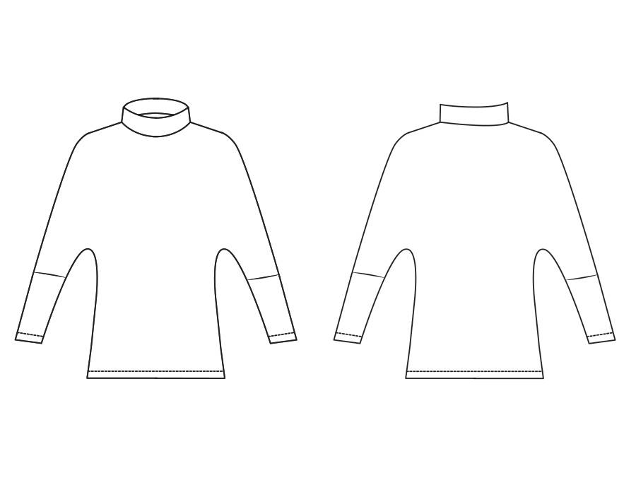 "S1040 Sweater ""Nicole"""