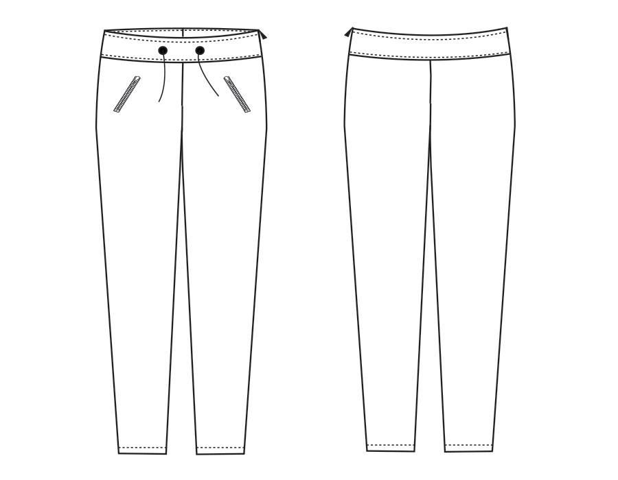 """S1042 Trousers """"Jody"""""""