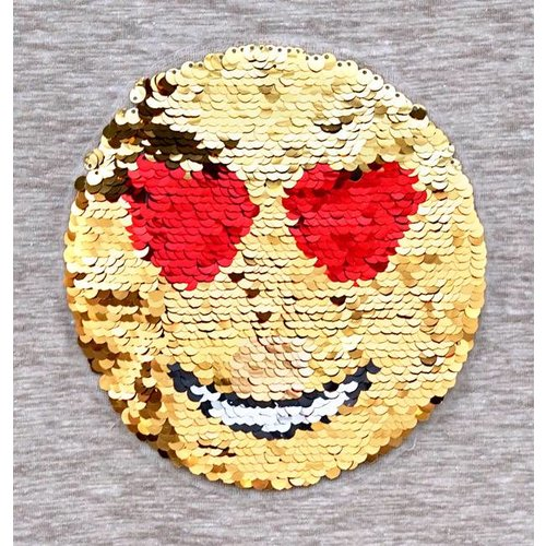 Patches Smiley Gold
