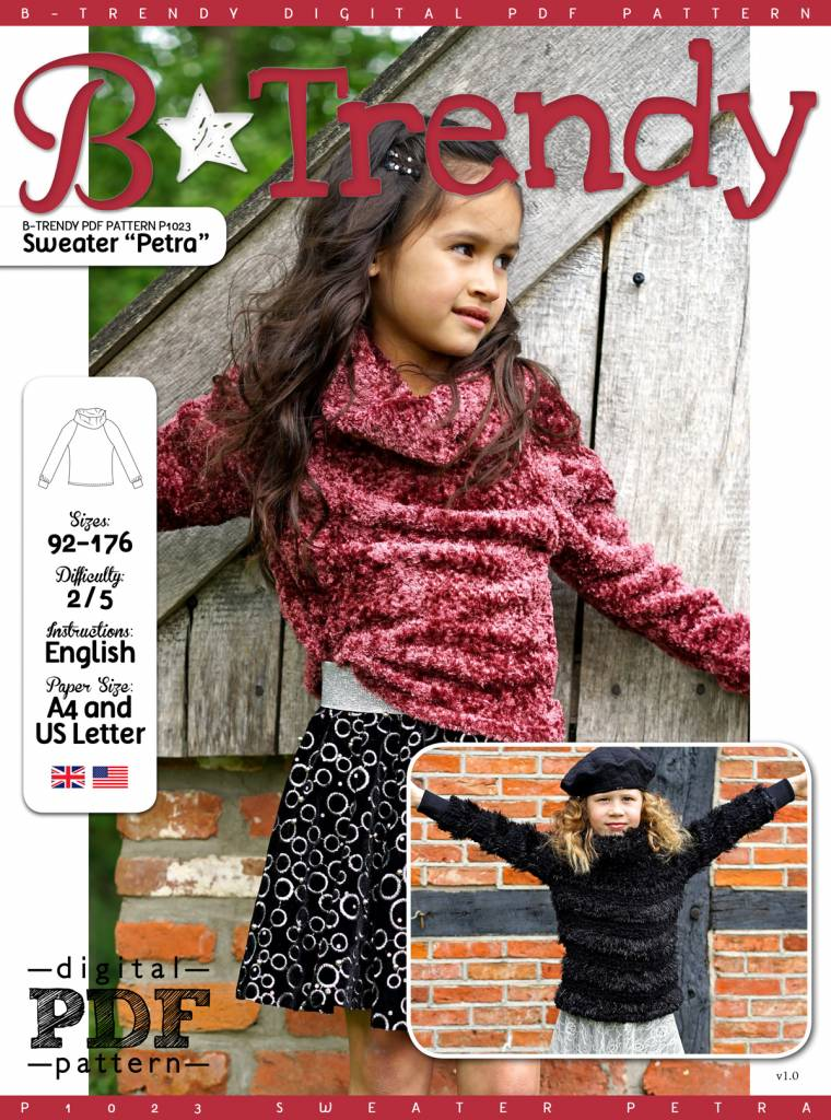 """P1023 Sweater """"Petra"""""""
