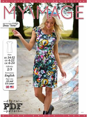 "Download S1053 Dress ""Irene"""