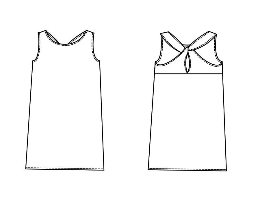 "P1027 Dress ""Amy"""