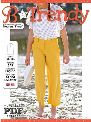 "Download P1028 Trousers ""Flora"""