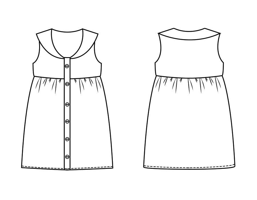 "P1029 Dress ""Aimee"""