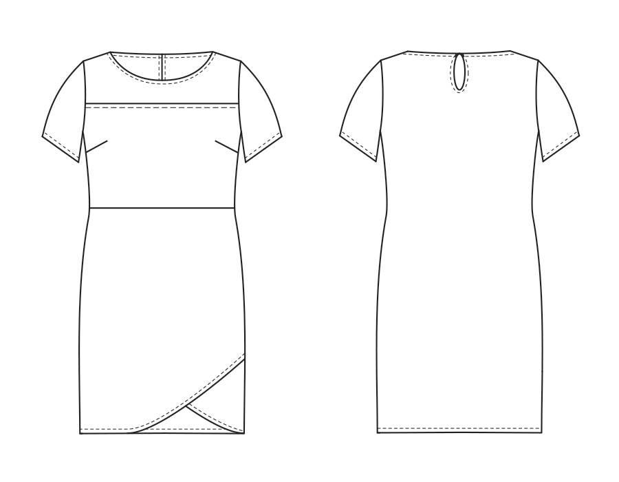 "S1056 Kleid ""Roxy"""