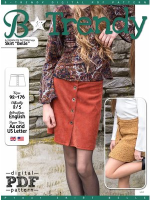 "Download P1031 Skirt ""Belle"""