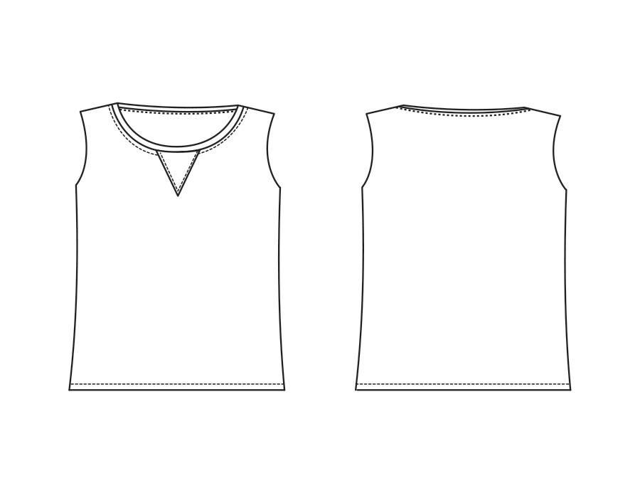 "P1034 Shirt ""Pascale"""