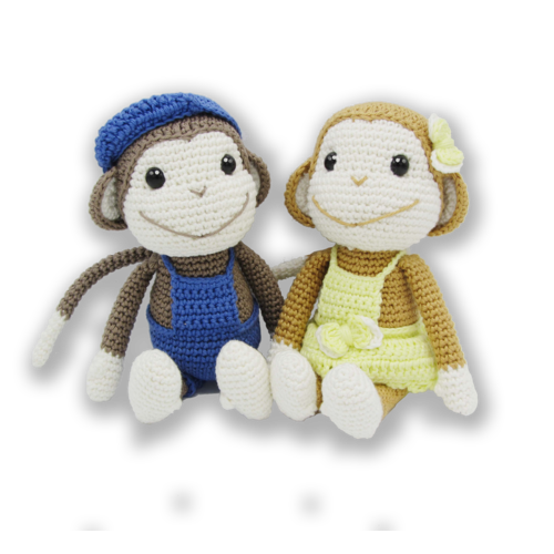 Hardicraft Crochet Kit Monkey Bryan