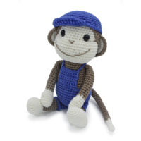 Crochet Kit Monkey Bryan