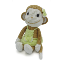 Crochet Kit Monkey Nikki