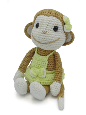 Hardicraft Set de crochet Singe Nikki