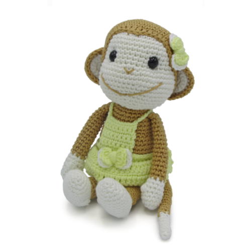 Hardicraft Crochet Kit Monkey Nikki