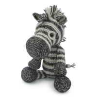 Crochet kit Zebra Dirk