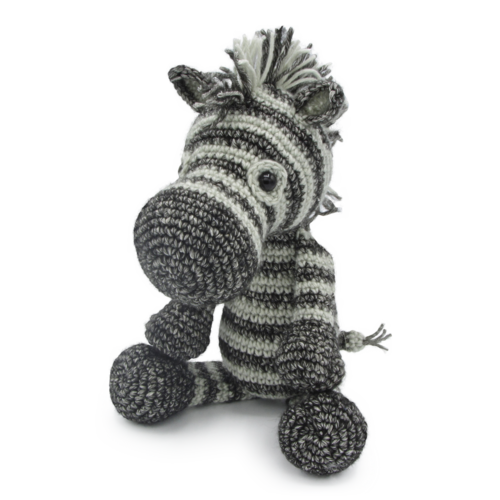 Hardicraft Crochet kit Zebra Dirk