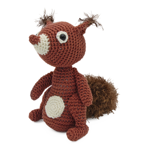 Hardicraft Crochet kit Squirrel Jimmy
