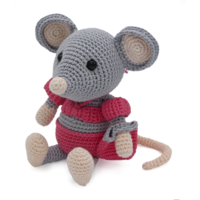 Crochet Kit Mouse Daisy