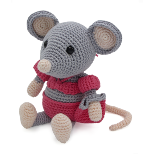 Hardicraft Set de crochet Souris Daisy
