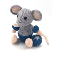 Crochet Kit Mouse Eddy