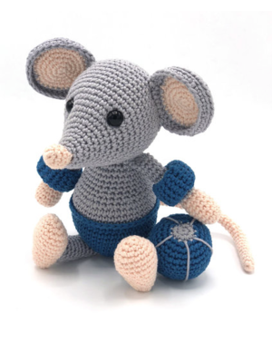 Hardicraft Crochet Kit Mouse Eddy
