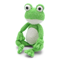 Crochet kit Frog Vinny