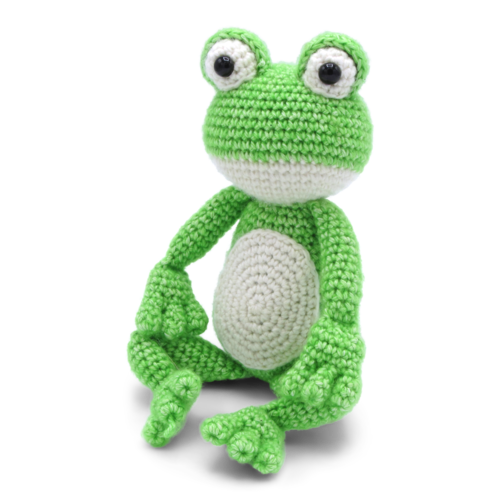 Hardicraft Crochet kit Frog Vinny